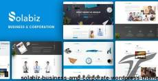 Solabiz - Business & Corporate WordPress Theme