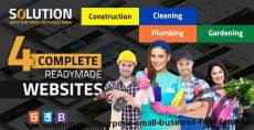 Solution Multipurpose Small Business Html Template