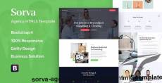 Sorva - Agency Landing Page HTML5 Template By basictheme