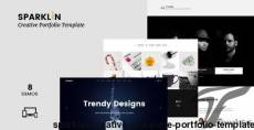 SPARKLIN - Creative One Page Portfolio Template