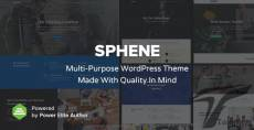 Sphene - All In One - Creative, Corporate, Photography, One Page and Shop WordPress Theme