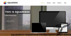 Squarebox - Responsive Multi-Purpose Jekyll Theme