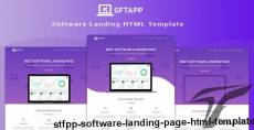 STFPP - Software Landing Page HTML Template By webtend