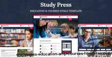 StudyPress - Education & Courses HTML5 Template