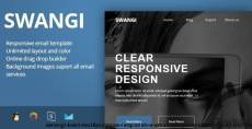 SWANGI - Best Multipurpose Responsive Email Template + Stampready Builder