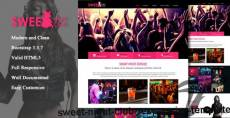 Sweet Night Club - responsive template