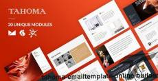 Tahoma Email-Template + Online Builder By liveautograph