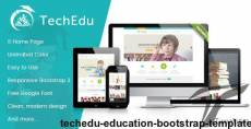 Techedu - Education Bootstrap Template