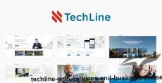 TechLine - Web services and business theme