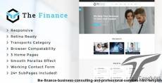 The Finance - Business Consulting and Professional Services HTML Template