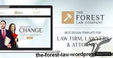 The Forest Law WordPress Theme