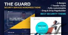 The Guard – Security, CCTV and Bodyguard Services Company WordPress Theme