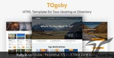 Togoby - Responsive HTML for Tour Hosting