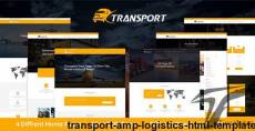 Transport & Logistics HTML Template