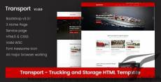 Transport - Local Transport & Storage Website Template