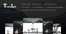 Travelia - Multi-layout Ghost Blog Theme