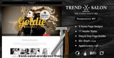 Trend Salon - WordPress Theme for  Hair Style and Beauty Salons