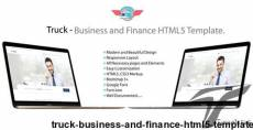 Truck - Business and Finance HTML5 Template.