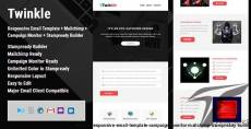 Twinkle - Responsive Email Template + Campaign Monitor + Mailchimp + Stampready Builder