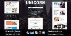 UNICORN - Multipurpose Responsive Email Template + Stampready Builder
