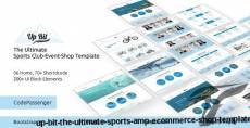 UP BIT - The Ultimate Sports & eCommerce Shop Template