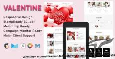 VALENTINE - Responsive Email Template With Stamp Ready Builder Access
