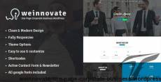 Weinnovate - One Page Corporate Business WordPress