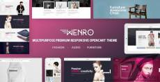 Wenro - Multipurpose Responsive Opencart Theme   16 Homepages Fashion, Furniture, Digital and more
