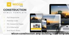 WICON | Construction & Building HTML Template
