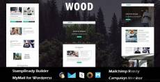 Wood - Multipurpose Responsive Email Template with Stampready Builder Access