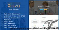 Xlava - Corporate, Agency Business HTML5 Template