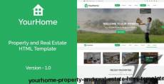 YourHome - Property and Real Estate HTML Template