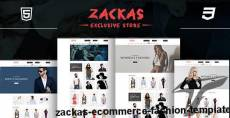 Zackas - eCommerce Fashion Template