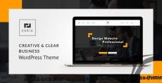Zaria - A Beautiful & Smart Business WordPress Theme
